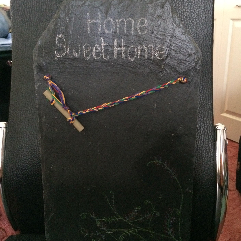 Recycled Slate Chalkboard