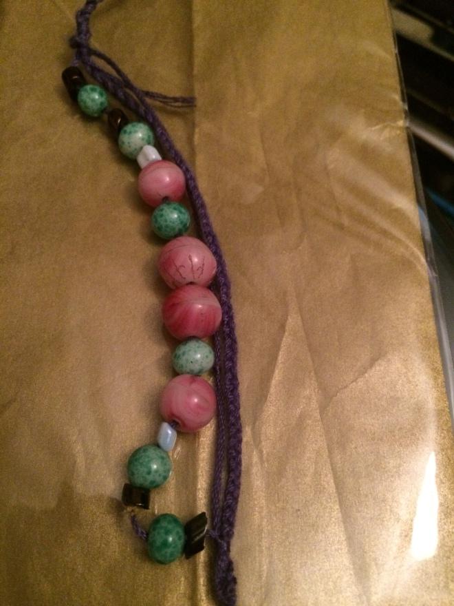 Vintage Crystal Beads Bracelet
