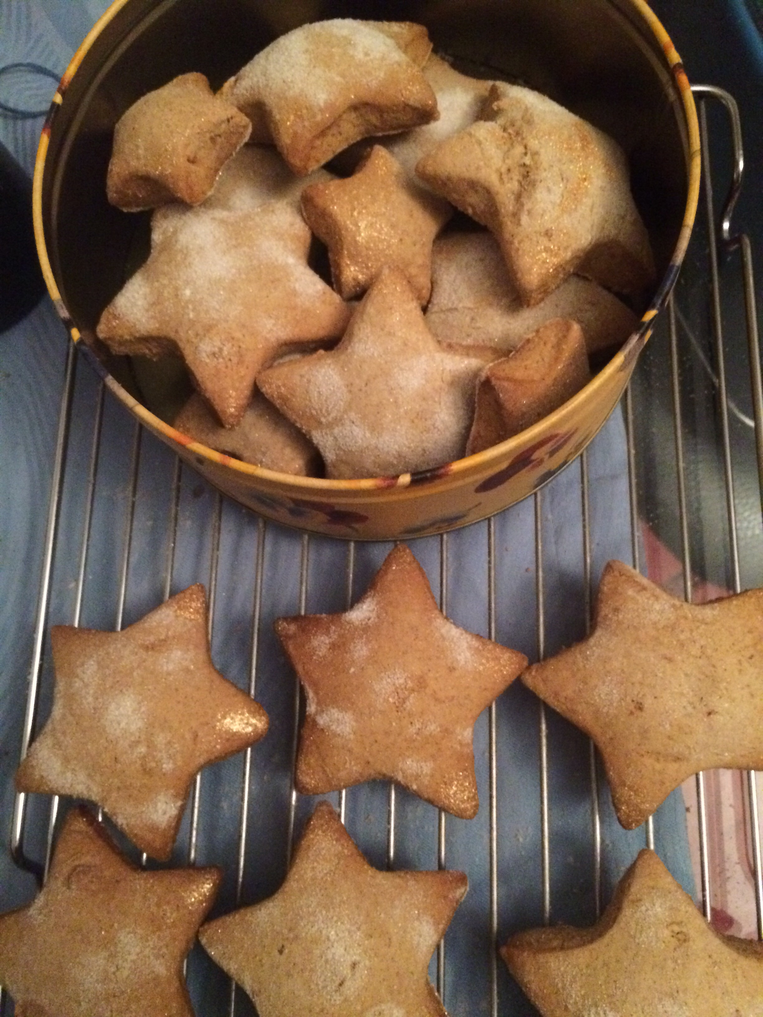 Shooting Star Biscuits